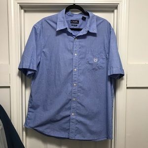 Chaps Short Sleeve Button-Down